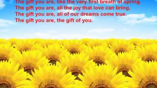 Watch John Denver The Gift You Are video