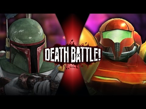 Boba Fett vs Samus Aran | DEATH BATTLE! | ScrewAttack!