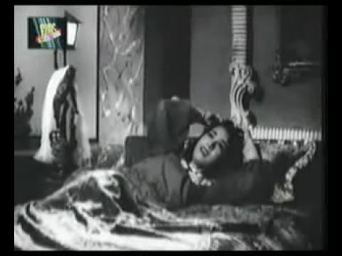 Neend Na Mujhko Aaye..hemant Kumar-lata Mangeshkar & Gorgeous Shakila video