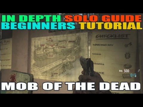 In Depth Beginners Guide to Mob of the Dead Solo Tutorial! All Buildables & Tomahawk etc