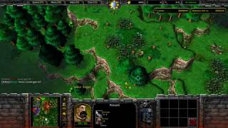Warcraft 3: Farmers vs Hunters #2 - Purples Great Strategy