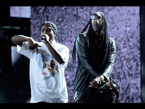 2 Chainz Asap Rocky Kendrick Lamar BET Awards 2013 Performance