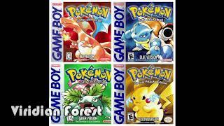 Pokémon Red/Blue/Green/Yellow Soundtrack