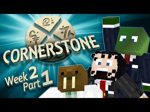 Minecraft Cornerstone -  New Mayor! (Week 2 Part 1)