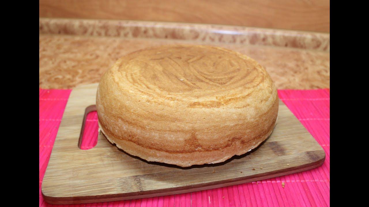 Как легко сделать бисквит
