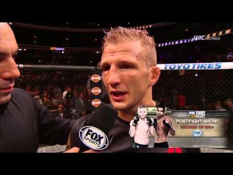 Fight Night Chicago: T.J. Dillashaw Octagon Interview
