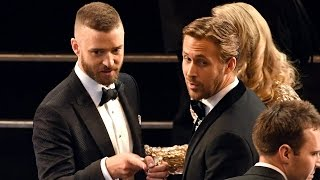 "Justin Timberlake Opens 2017 Oscars & Dances With Celebs During ""Can"