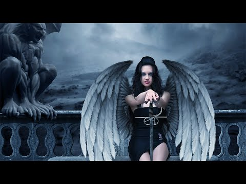 Make An Evil Angel In Photoshop - (psd Box) video