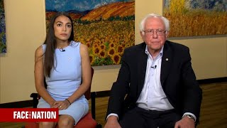 Bernie Sanders and Alexandria Ocasio-Cortez on their progressive push in deep-red states