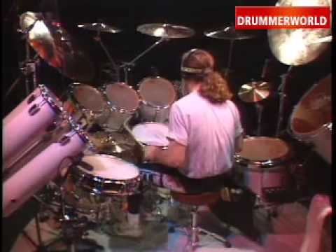 Simon Phillips - Drum solo