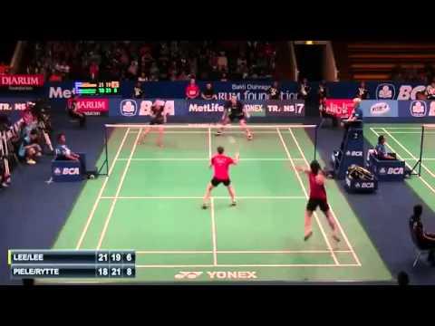 2015 BCA Indonesia Open R32 [XD] LEE Yong Dae-LEE So Hee vs Mads PIELER KOLDING-Kamilla RYTTER JUHL