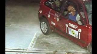 Rover 25 Euro NCAP crash test