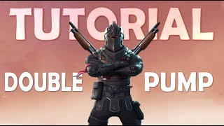 DAEQUAN'S DOUBLE PUMP TUTORIAL w/ Demonstration Clips! - (Fortnite Battle Royale)