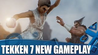Tekken 7 PS4 Gameplay - Is This The Craziest Tekken Yet?