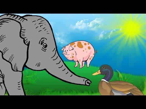 Tiere Lernen Für Kinder! Tiere Und Ihre Laute Aus Dem Tierbuch