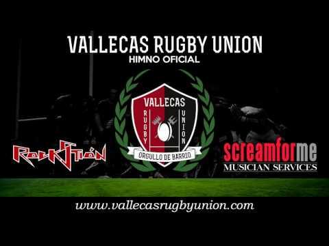himno oficial del vallecas rugby unión compuesto por rockstion.