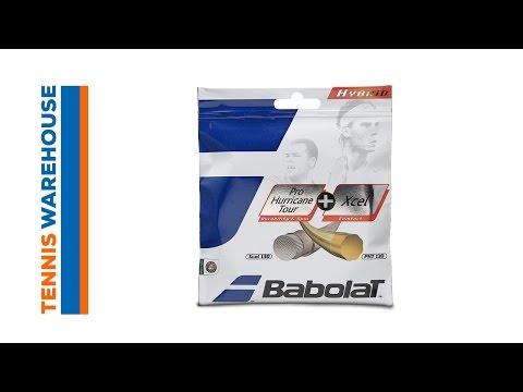 Babolat Hybrid Hurricane Tour + Xcel String Review