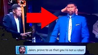 Jalen Rose Denies Being Robotoid Clone[PacLives]