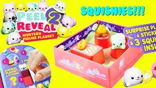 PEEL 2 REVEAL Mystery Squishy Playsets Soft N Slo Squishies Unboxing FULL CASE
