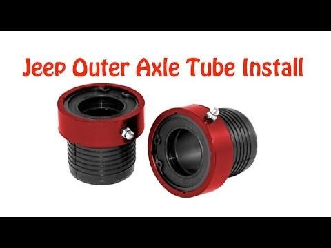 DIY How to Install Jeep TJ.XJ Axle Tube Seals