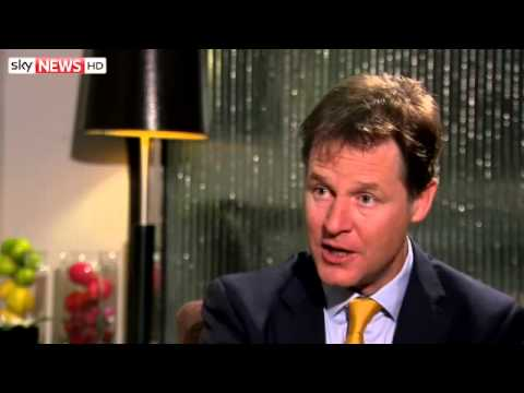 Nick Clegg On The Liberal Democrats' Future Plans