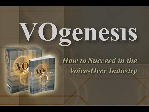 VOgenesis. How to make money from home. as a Voice-Over artist.