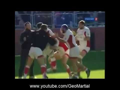GEORGIAN RUGBY:GEORGIA 19-17 USA