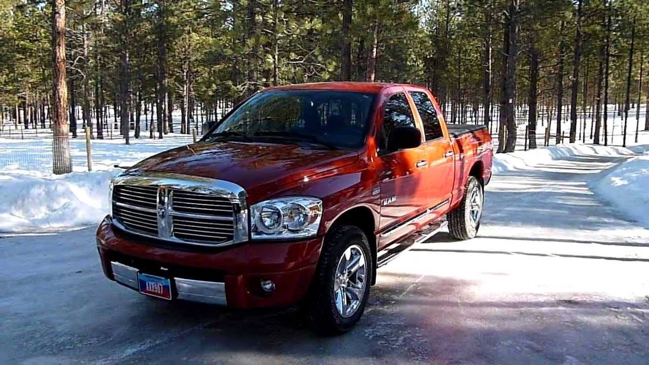 2008 Dodge Ram 1500 Quad Cab Laramie 4x4 Review Youtube