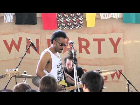 Twin Shadow live at Other Music & Dig For Fires Lawn Party at SXSW