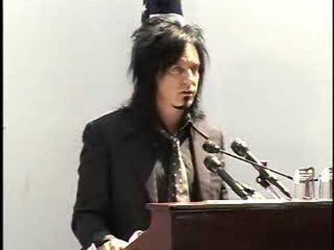 Nikki Sixx - NAADAC Speech on Capitol Hill