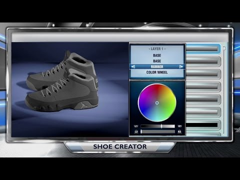 PS4 NBA 2K14 HOW TO CREATE AND WEAR YOUR OWN SHOE ONLINE! | Cool Grey 9 Shoe Tutorial | FRESH (XB1)