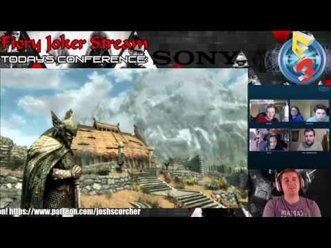 Fiery Joker Streams E3 2016: Sony Conference