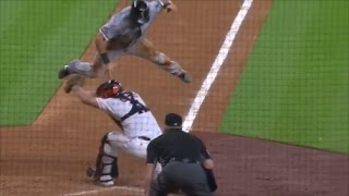 MLB Acrobatic Plays