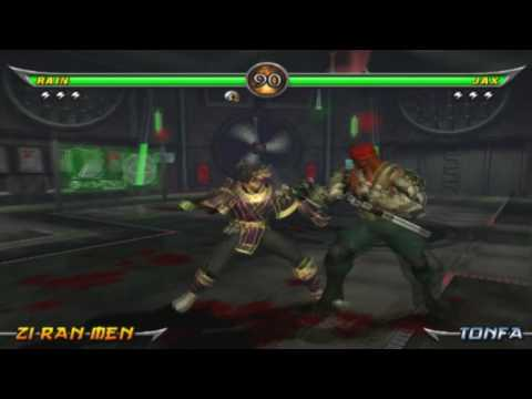 Mortal Kombat: Armageddon on PCSX2 Playstation 2 Emulator (720p HD)