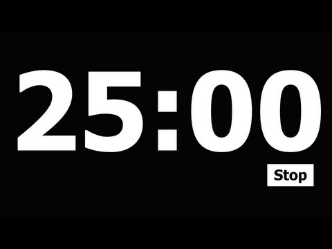 25 Minute Countdown Timer video