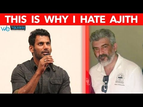 This is why I hate Ajith  -  Vishal Bold Talk  |Thala|