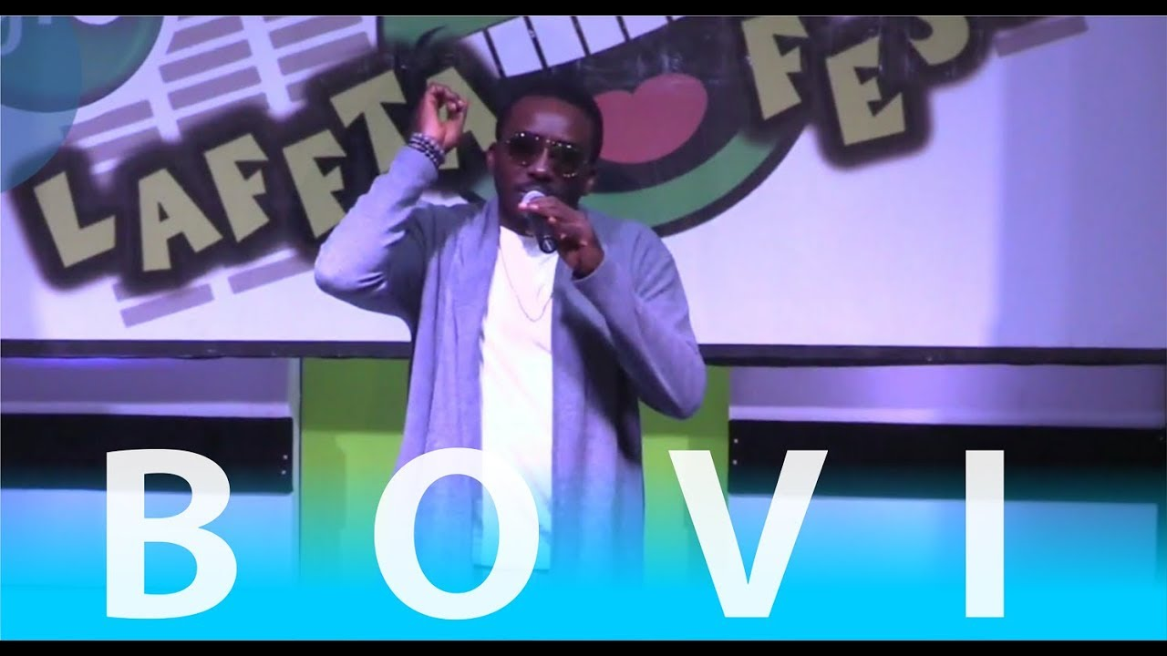 BOVI ON POINT WITH HIS LATEST 2017 COMEDY PERFORMANCE | GloLaffta Fest,  Ibadan
