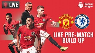 Manchester United v Chelsea - LIVE MUTV Pre-Match Build Up 15:00 (BST)