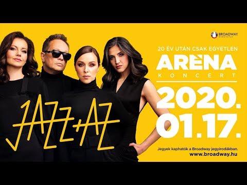 JAZZ+AZ - ARÉNA koncert január 17-én