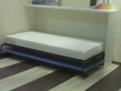 Cama abatible horizontal la soluci n para espacios - Ideas camas para espacios reducidos ...