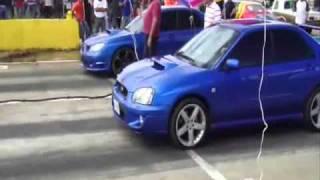 05 SUBARU WRX vs Subaru WRX vs Turbo Civic