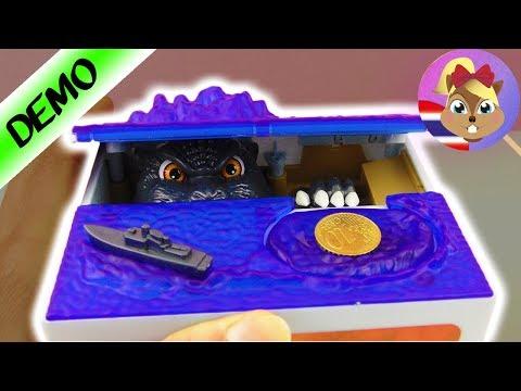 แกะกล่องของเล่น กระปุกออมสินขโมยเงิน! มอนสเตอร์น่ากลัวจะมาหยิบเงินไป!