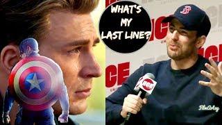 Avengers 4: Endgame - Chris Evans Shares His Last Dialogue As Captain America