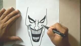 Download video How to Draw a Joker - Como Dibujar al Joker