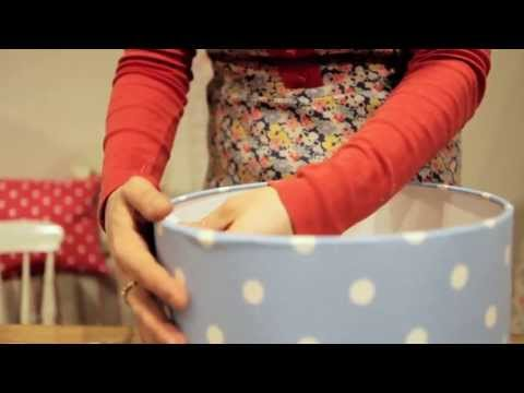 Make your own Cath Kidston lampshade