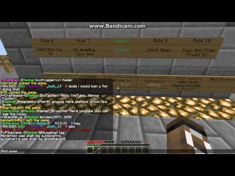 Minecraft Cracked server 1.4.7, Factions,Mcmmo.pvp,No hamachi, No Grief Or Raid.