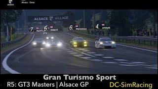 Gran Turismo Sport - GT3 Masters - Alsace GP (night) - DC-SimRacing.NL - LIVE