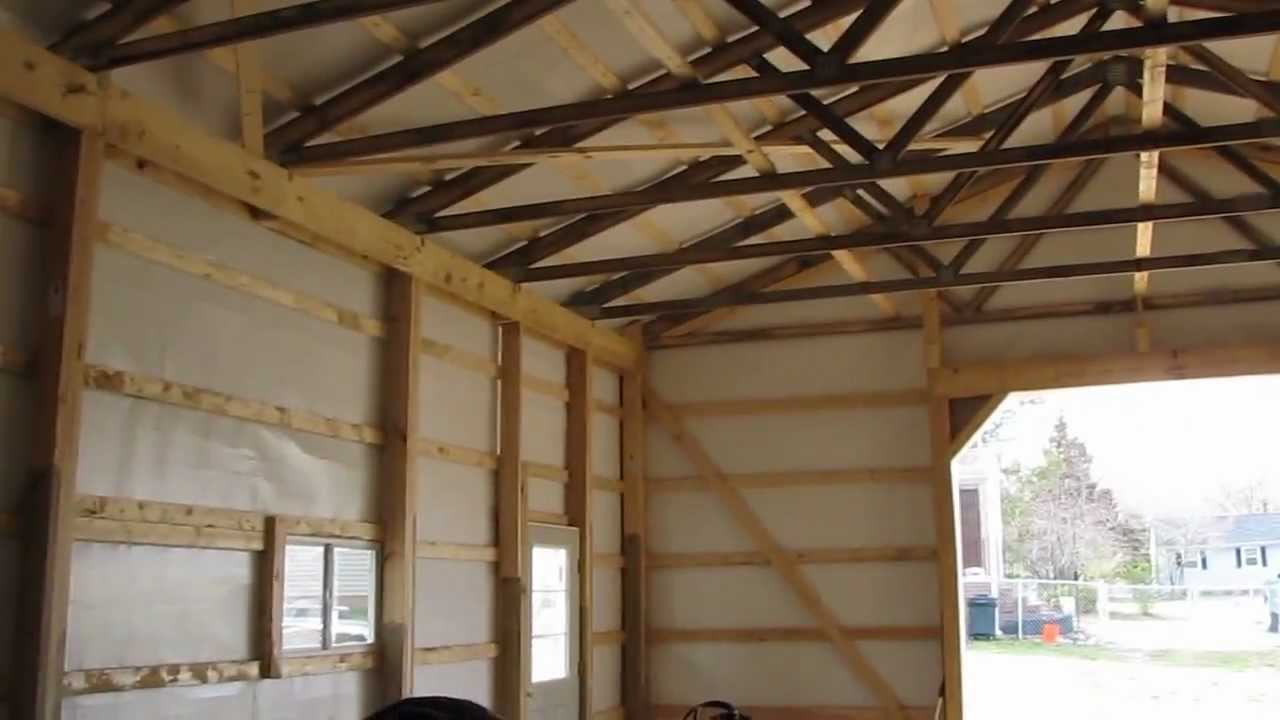 Cha Pole Barns Are Awesome   Waiting On Electrical And Concrete