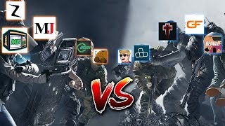Beating 5 YouTubers With A Controller at the R6 Creators Cup