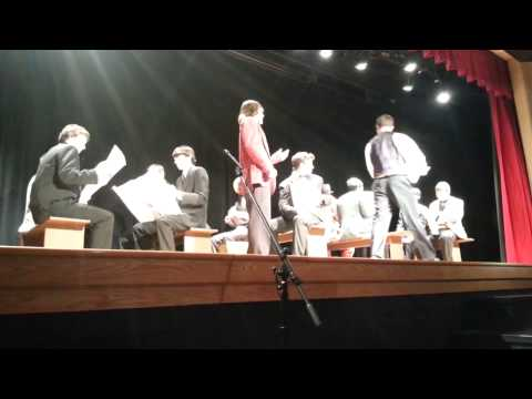 Norwayne High School students perform Music Man